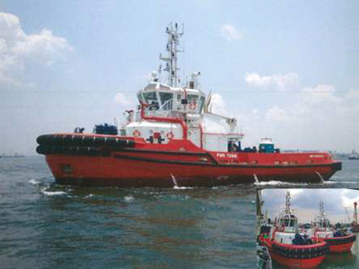 Leo and Lily - 2012 built ASD tugs